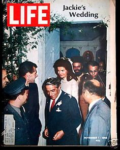 Jackie's wedding to Aristotle Onassis took place on his private island, Skorpios, Greece on October 20, 1968. She was 39, and he was 62.