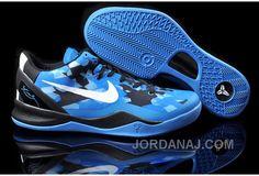 7c19d1fb6de9 Cheap Nike Kobe 8 Women Blue Black White