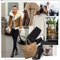 Ladies Sheepskin Aviator Jacket - JacketIn