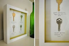 Frame Your Old House Keys — Young House Love