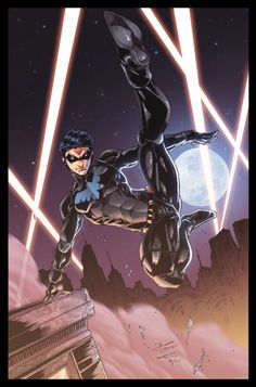 superheroes-or-whatever:  Nightwing by Furlani
