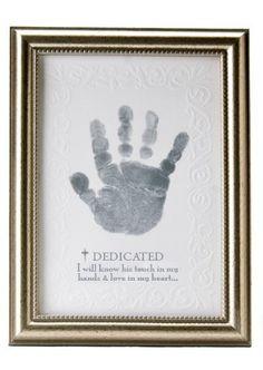 The Grandparent Gift Co. Growing in Faith Handprint Frame, Baby Dedication by The Grandparent Gift Co., http://www.amazon.com/dp/B004TEKP44/ref=cm_sw_r_pi_dp_b8AJrb1BEJJ63