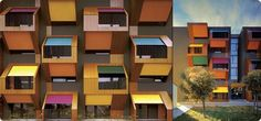 Block Balconies, Ofis Architects