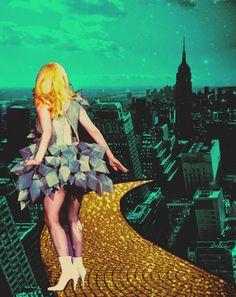 ... just follow the glitter way.