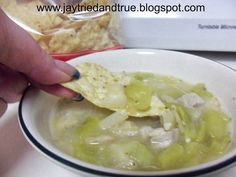 Jay Tried and True: Chili Verde
