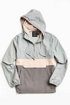 CPO Citywide Colorblock Anorak Jacket - Urban Outfitters