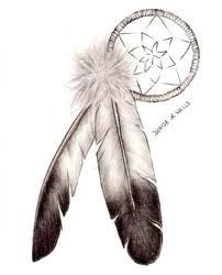 These feathers, but instead of the dream catcher, a Celtic knot or Celtic circle? Heritage tat