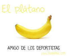 El plátano, amigo de los deportistas por NC. Karla Díaz Mandujano/ BLOG ACERCA DE CORRER, ENTRENAMIENTOS, Y UNA BUENA ALIMENTACIÓN.