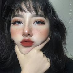 Korean makeup tutorials: Beauty is a variety of factors that most operate in harmony. Skin care goes a large role in looking beautiful. Men usually tend to overlook their skin, everyone can be helped by paying a little bit attention to their skin. Makeup Goals, Makeup Inspo, Makeup Inspiration, Beauty Makeup, Hair Makeup, Hair Beauty, Nerd Makeup, Makeup Ideas, Makeup Hacks
