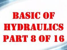 Basic Hydraulics Part 8