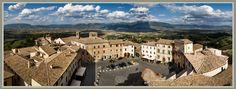 Montefalco, Umbria, Italy = panzanella & sagrantino