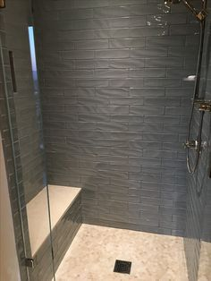 grey subway tile sho