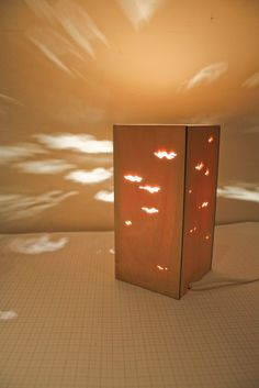 Laser cut lamp #bedroom #light #lasercut #laser