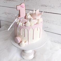 7 Step Wedding Cake – All Cakes 1st Birthday Cake For Girls, 90th Birthday Cakes, 85th Birthday, Princess Birthday, Girly Cakes, Fancy Cakes, Cake Templates, Cake Illustration, Baby Girl Cakes