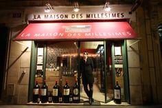 LA MAISON DES MILLESIMES - VENTE DE VINS PRETS A BOIRE - PARIS 6ème - ACCUEIL