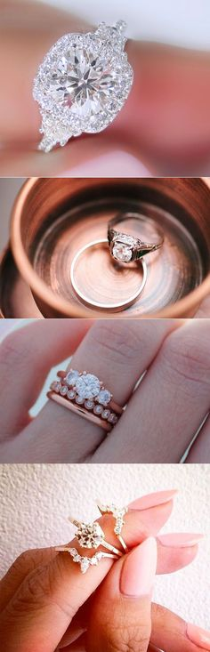 blingly gorgeous diamand engagement ring ideas