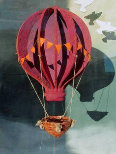 anthropologie hot air balloon window - Google Search