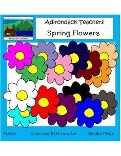 Clip Art: Flowers Freebie!