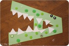 Nap Time Crafters: A is for Alligator Craft