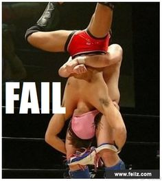 I can't even describe. Epic #FAIL is epic. LOL