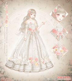 Anime Angel Girl, Anime Girl Dress, Anime Art Girl, Vestidos Anime, Nikki Love, Anime Poses Reference, Dress Sketches, Anime Princess, Fashion Design Drawings
