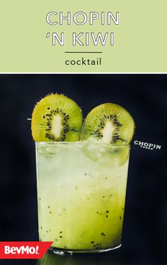 Embrace your love of kiwis—or discover a new obsession—with this kiwi-flavored cocktail! Check out this recipe from BevMo! to learn more about this tasty combination of vodka, simple syrup, lime juice, and kiwis.