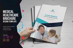 Medical HealthCare Brochure by Miyaji75 on @creativemarket