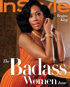 Regina King, Instyle Magazine, Black Magazine, King Photography, Fashion Photography, Hollywood Icons, Badass Women, Fierce Women, Celebs