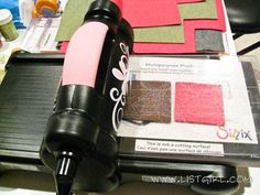 How to die cut felt with a Sizzix Big Shot using Micheals polyester acrylic felt...less expensive than 100% wool...will try
