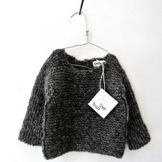 sweater from belgian clothing designer anja schwerbrock's 'treehouse' line for children.