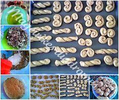 Κουλουράκια με πολτό μήλου ή αχλαδιού