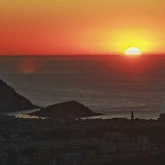 #Donostia se despide del día