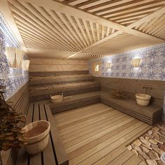 Office Interior Design, Interior Exterior, Saunas, Sauna Design, Curved Wood, House Tiles, Style Tile, Jacuzzi, Bathroom Inspiration
