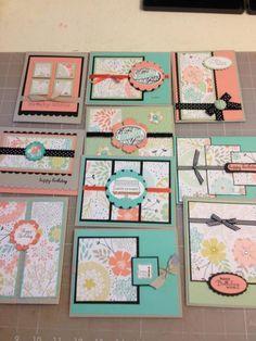 One Sheet Wonder - Sweet Sorbet by donnacook - Cards and Paper Crafts at Splitcoaststampers