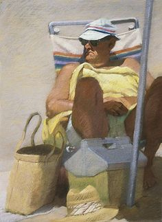 Archived and private collection paintings from 1980- 1989 by California artist Sally Strand.