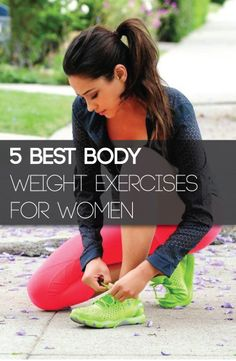 Beginning your exercise endeavor with bodyweight exercises will give you a great introduction to staying healthy. But you are probably thinking, what are some great body weight exercises to start with. Here are the most popular ones that anyone can do.