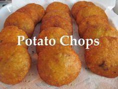 Iraqi Meat Stuffed Mashed Potato/ Potato Chops/بيتية جاب ـ كبة البطاطا /...