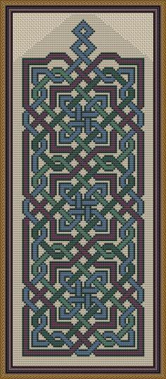 Arabesque Cross Stitch Fabric, Cross Stitch Borders, Cross Stitch Designs, Cross Stitching, Cross Stitch Embroidery, Loom Patterns, Fabric Patterns, Cross Stitch Patterns, Beading Patterns