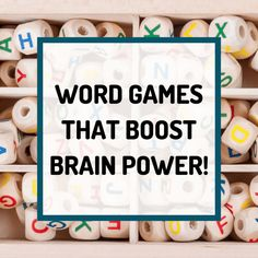 Word games make you smarter. These fun sight word games, word board games and thinking games will challenge your kids to build their vocabulary, learn spelling, boost brain power and most of all have fun and laugh a lot! Literacy Games, Spelling Activities, Vocabulary Games, Vocabulary Strategies, Listening Activities, Preschool Learning, Preschool Activities, Rhyming Words, Spelling Words