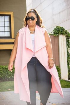 GarnerStyle | The Curvy Girl Guide: Simply Pink