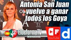 Antonia San Juan vuelve a ganar todos los Goya en la gala que celebra ca...