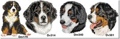 embroidery designs bernese mountain dogs | Bernese Mountain Dog Fleece Blanket - Embroidered