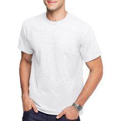Hanes Men's Short Sleeve Comfortblend Tee, Size: XL, White