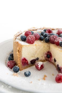 vegan Cheesecake with fruit | relleomein.de