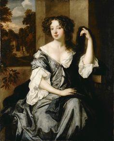 Portrait of Louise de Keroualle, Duchess of Portsmouth - Peter Lely  1671-1674
