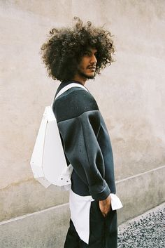 Yassine wearing ROSS