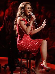 'American Idol' Finalist Haley Reinhart Has a Record Deal, Says Parents Hailey Reinhart, Famous Celebrities, Celebs, American Idol Finalists, Music Tv, Female Singers, Celebrity Dresses, Sexy Outfits, Role Models