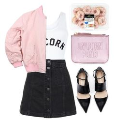 """Unicorn Fund"" by mode-222 ❤ liked on Polyvore featuring New Look and Topshop"