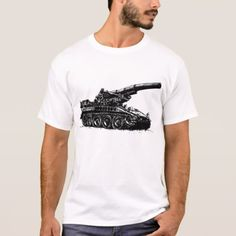 M110 Self-propelled Howitzer T-Shirt