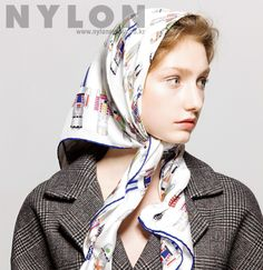 Hair Scarf Styles, Head Scarf Tying, Hair Cover, Bandana Hairstyles, Aesthetic People, Neck Scarves, Scarfs, Classic Style, Faces